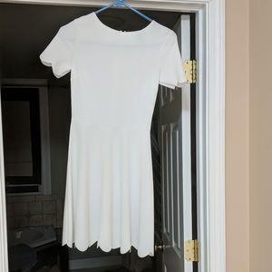 Aqua White dress.